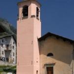 Campanile e chiesa di Starleggia